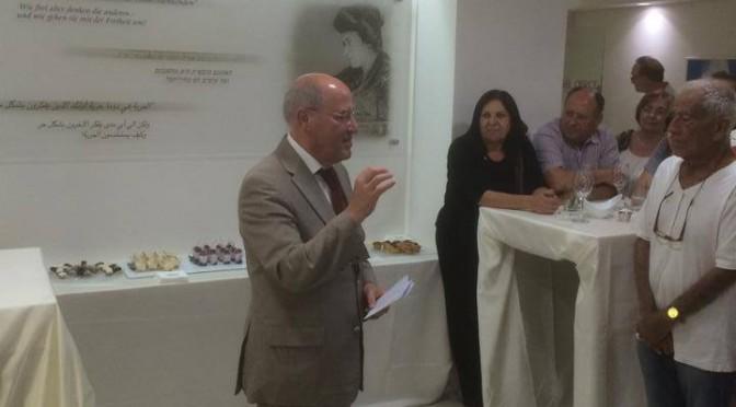 Symposium mit Dr. Gregor Gysi und Neueröffnung des Büros der Rosa-Luxemburg-Stiftung in Tel Aviv am 12.06.2014